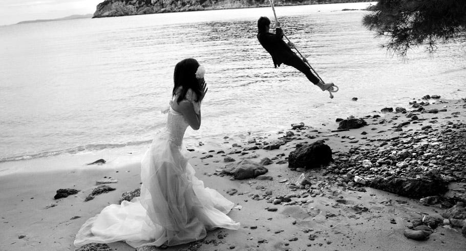 reportage di matrimonio - un matrimonio al mare