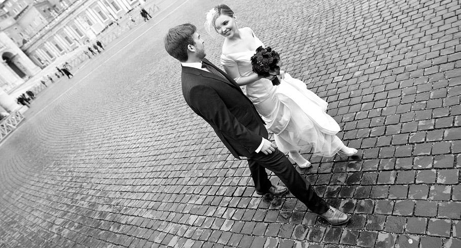 fotografo matrimonio san pietro