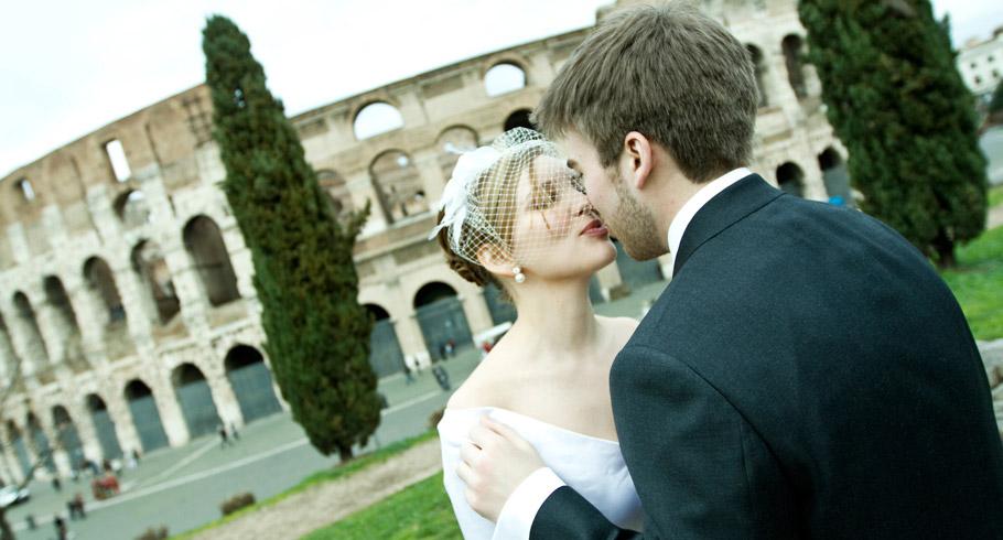 servizio fotografico al colosseo fotografo matrimonio colosseo roma