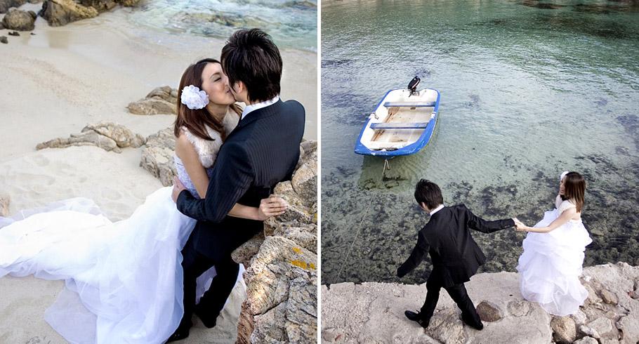 fotografia di matrimonio in costa smeralda sardegna roma