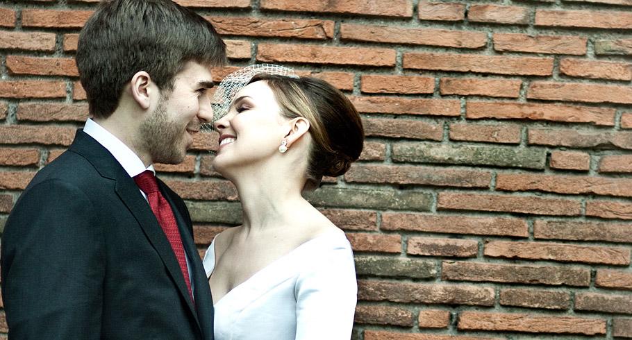 destination wedding foto a colori ritratto sposi spontaneo