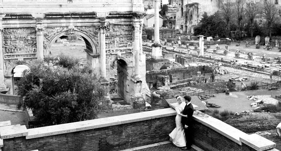 fotografo matrimonio fori romani