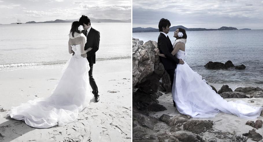 Matrimonio In Spiaggia Quanto Costa : Matrimonio al mare foto di un in spiaggia