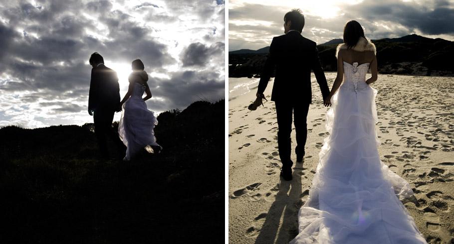 foto matrimonio roma sardegna tramonto luce