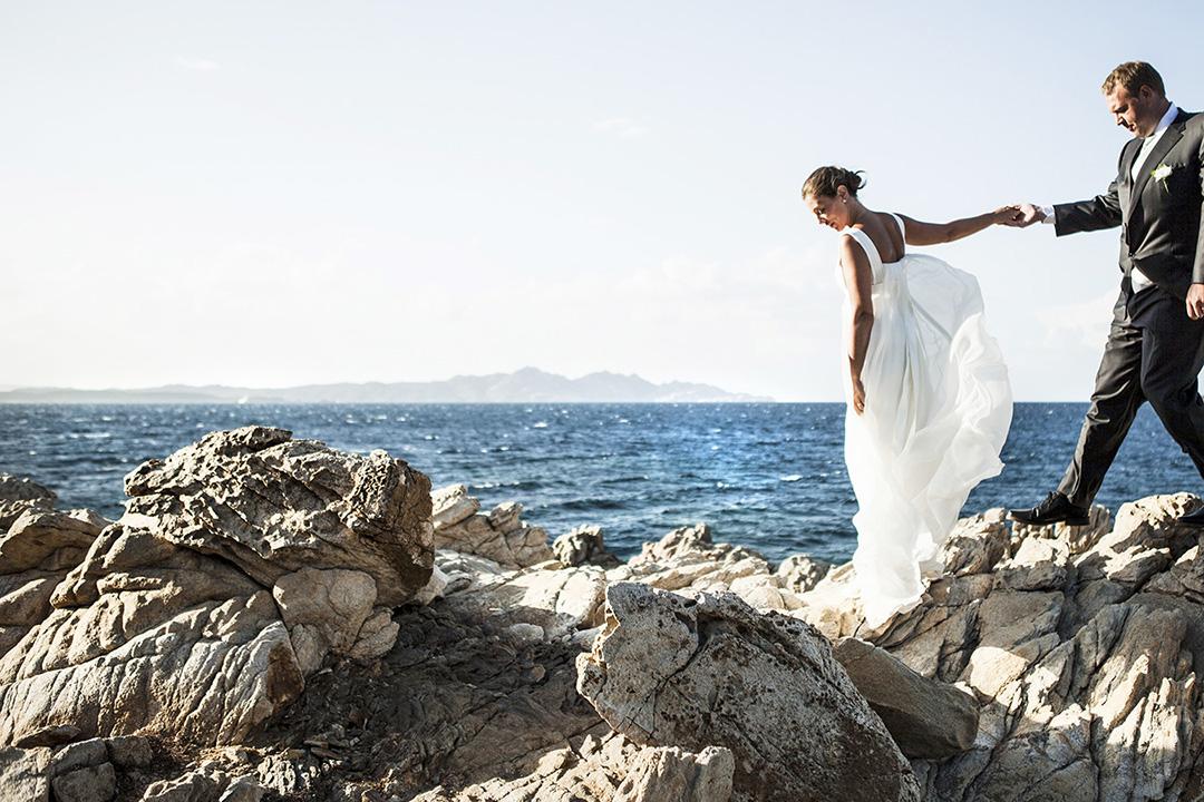 Fotografo Matrimoni Roma, servizio fotografico sposi in spiaggia