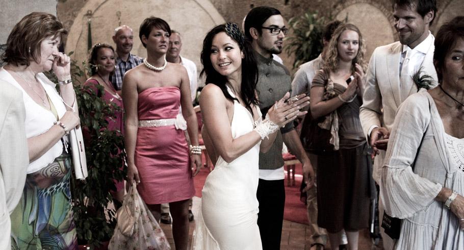 foto matrimonio caracalla roma cerimonia rito civile