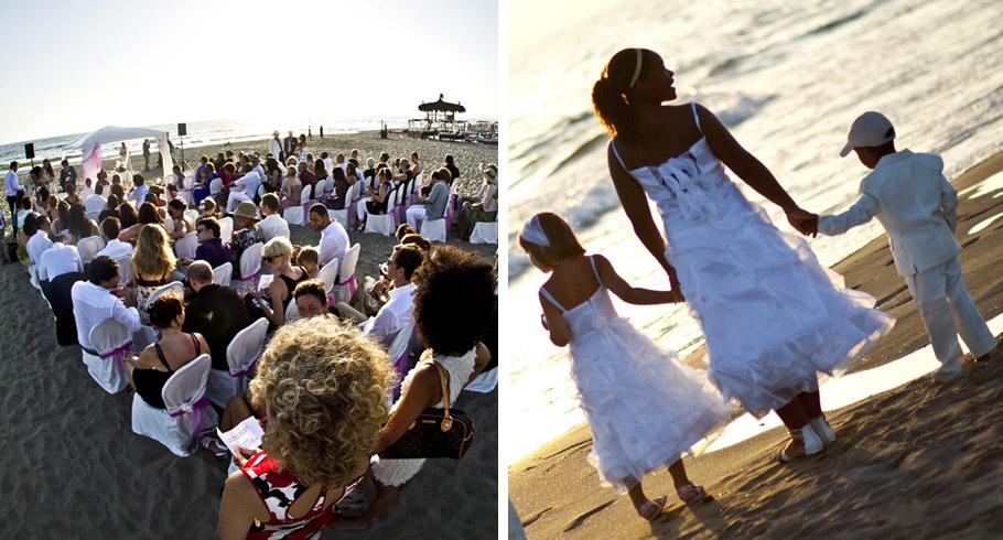 foto matrimonio a fregene