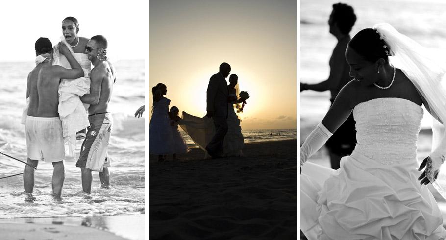 Matrimonio al tramonto in spiaggia a roma foto