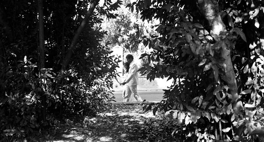 bianco e nero per le foto del matrimonio