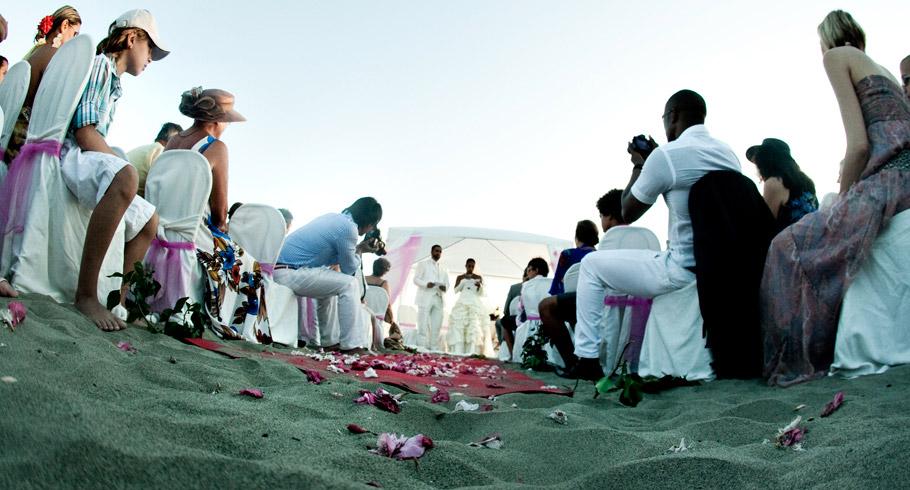 foto matrimonio mare spiaggia lazio meravigliosa cerimonia all'americana a roma