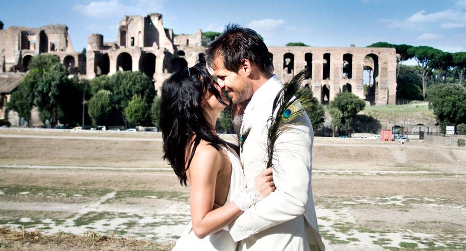 fotografo matrimonio circo massimo roma