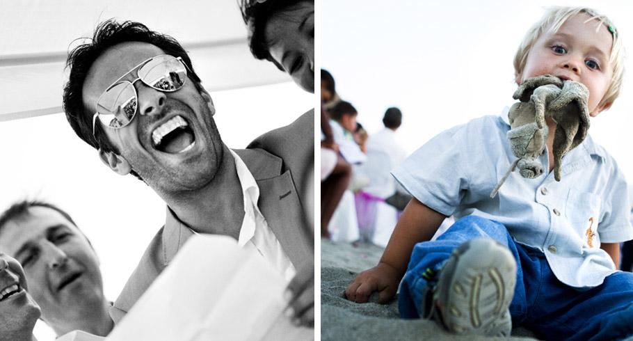 scatti fotografici di un matrimonio in spiaggia