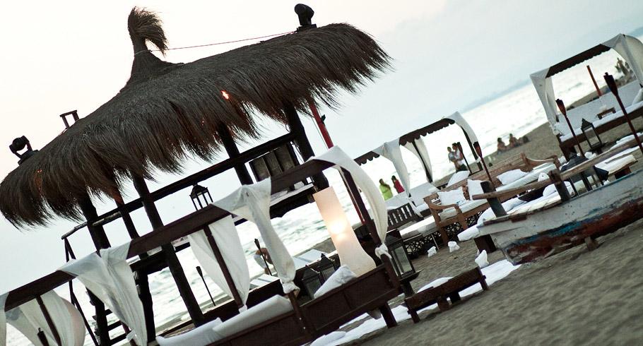l'apertivo del matrimonio in spiaggia al singita