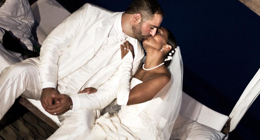 servizio fotografico matrimoniale in spiaggia