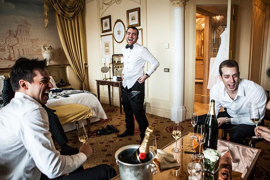 foto dei preparativi dello sposo - fotografo matrimonio roma