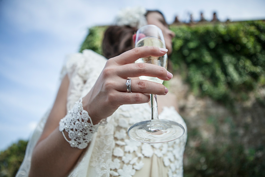 fotografo di matrimonio. Foto scattate a Firenze. Due sposi di nazionalità Russa hanno scelto l'italia per il loro destination wedding