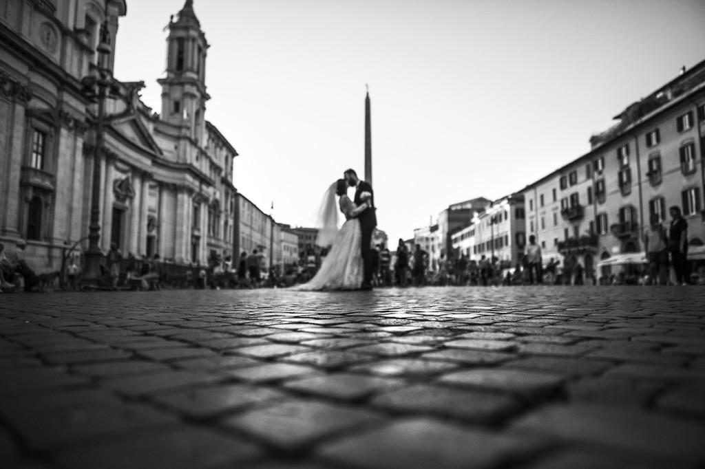 foto matrimonio piazza navona