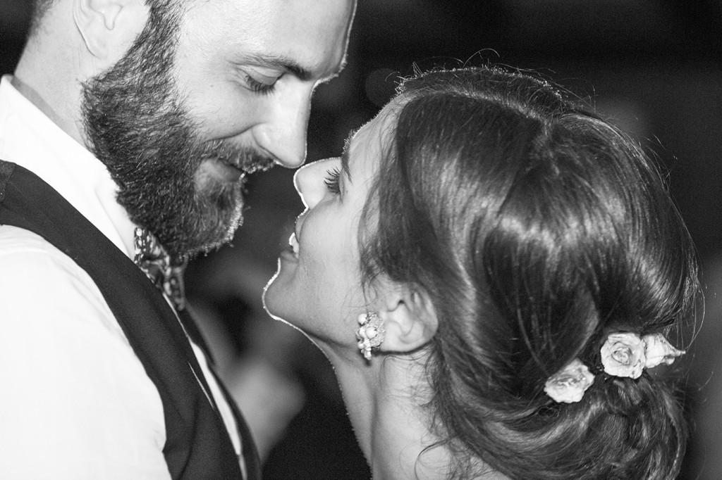 foto di matrimonio in biancio e nero