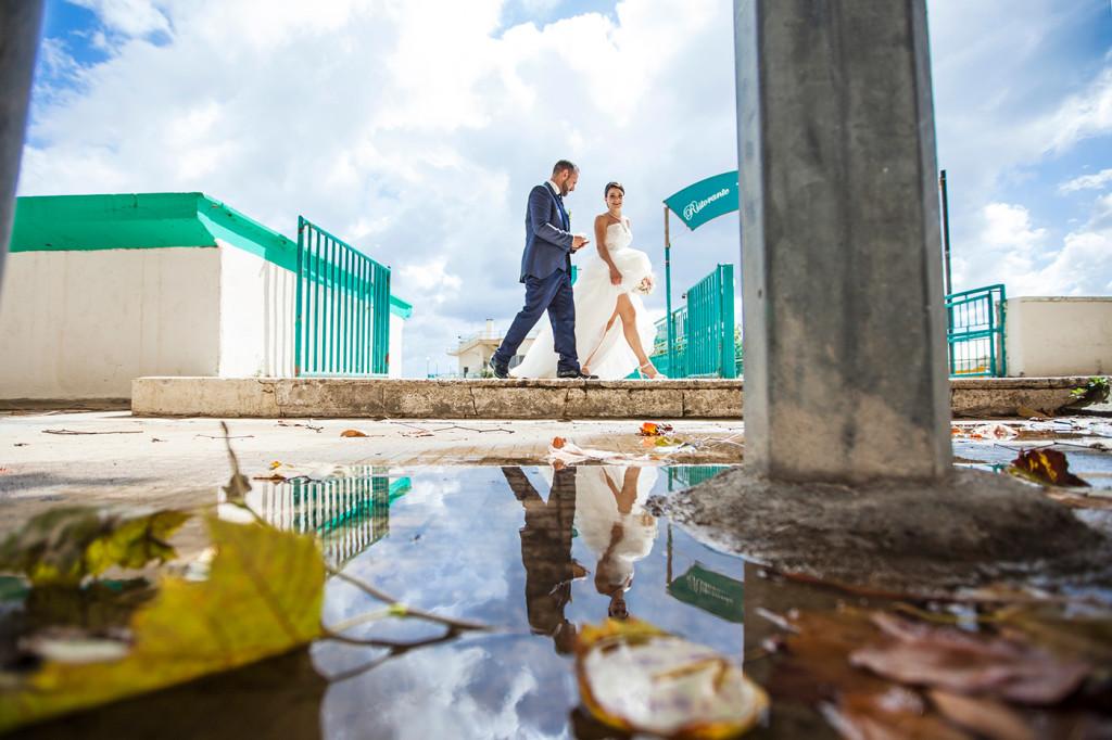 fotografo matrimonio roma riflessi